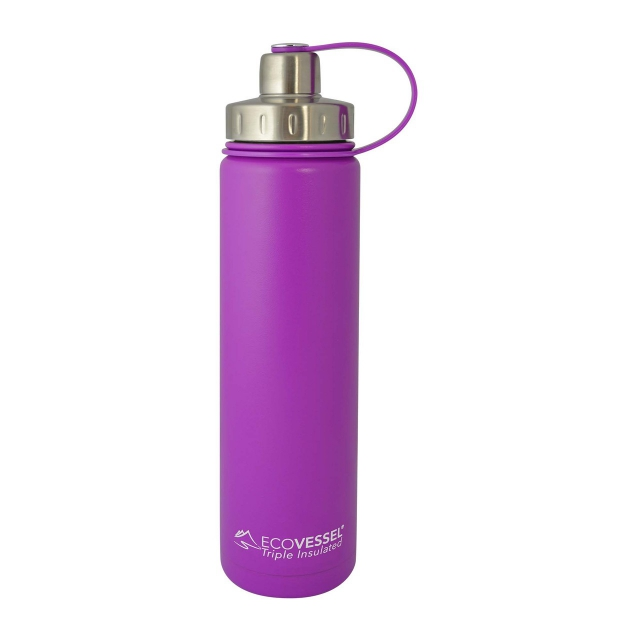 Eco Vessel - Boulder TriMax Insulated Stainless Steel Water Bottle - 24 oz