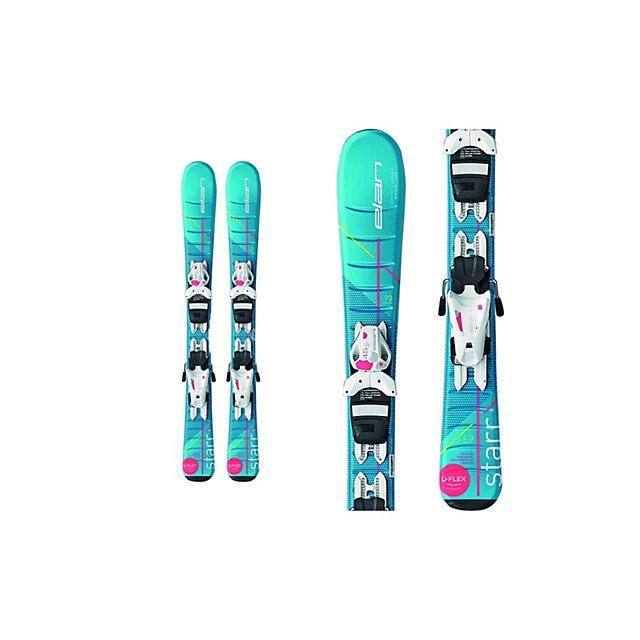 Elan Skis - Starr Kids Skis with EL 4.5 Bindings 2017