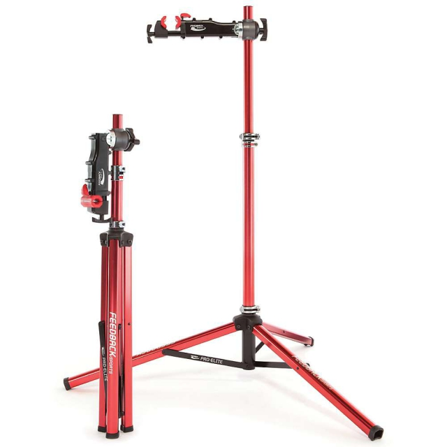 Feedback Sports - Pro-Elite Work Stand with Tote Bag