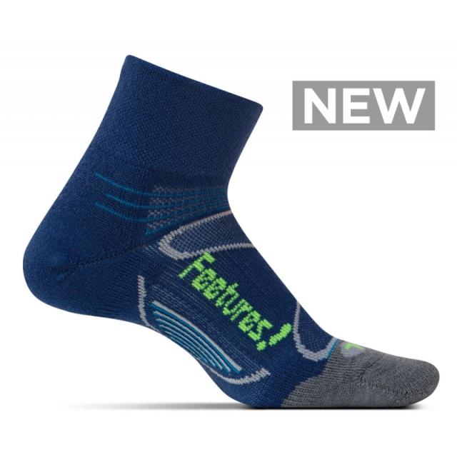 Feetures! - Merino+ Cushion Quarter