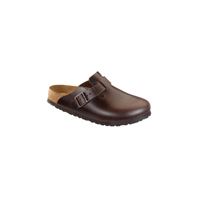 Birkenstock - Boston Soft Footbed Brown Amalfi Leather