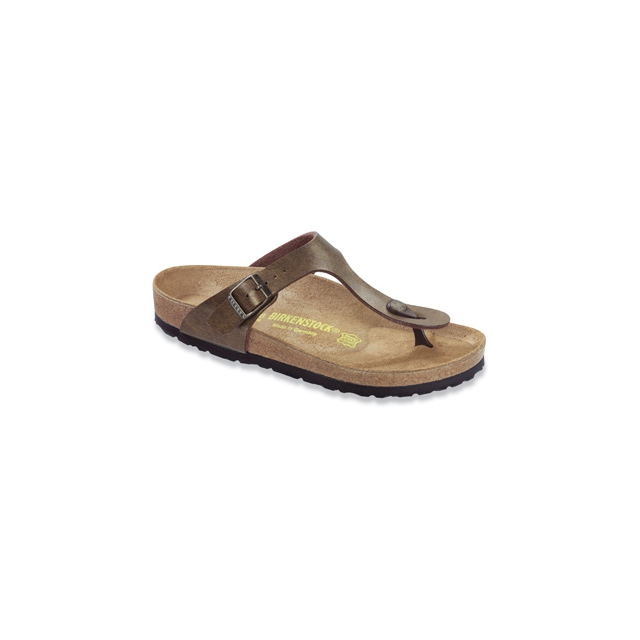 Birkenstock - Gizeh Golden Brown Birko-Flor