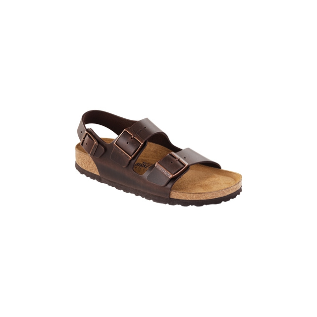 Birkenstock - Milano Soft Footbed Brown Amalfi Leather