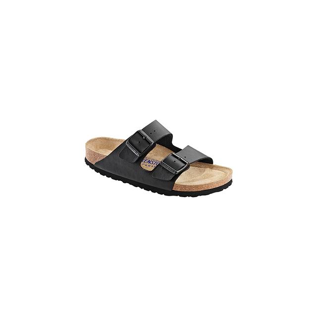 Birkenstock - Arizona Soft Footbed Black Birko-Flor