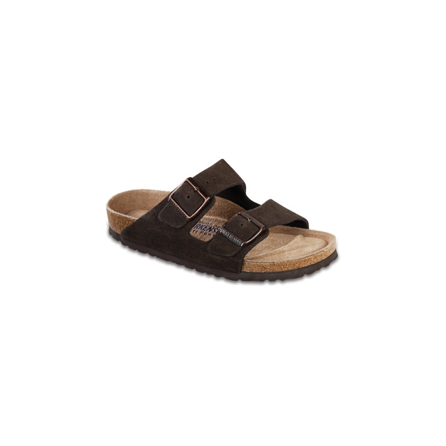 Birkenstock - Arizona Soft Footbed Mocha Suede