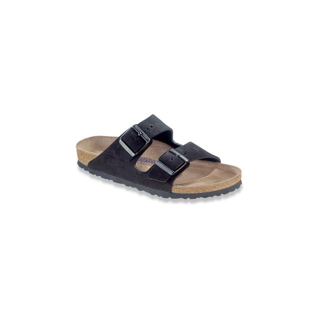 Birkenstock - Arizona Soft Footbed Black Suede