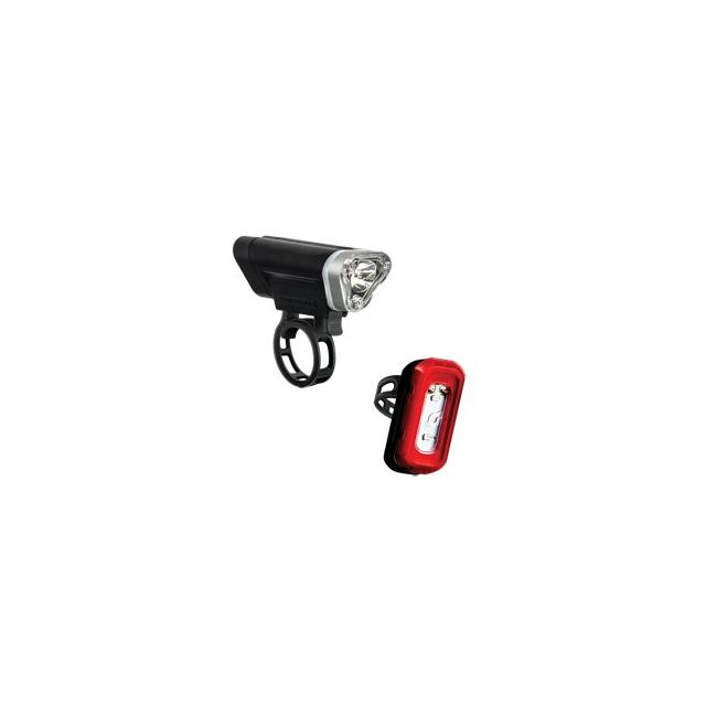 Blackburn Design - Local 75 Front & 15 Rear Cycling Light Set - Black