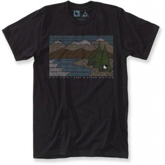 Hippytree Clothing - - Lakeside Tee - XX-Large - Black