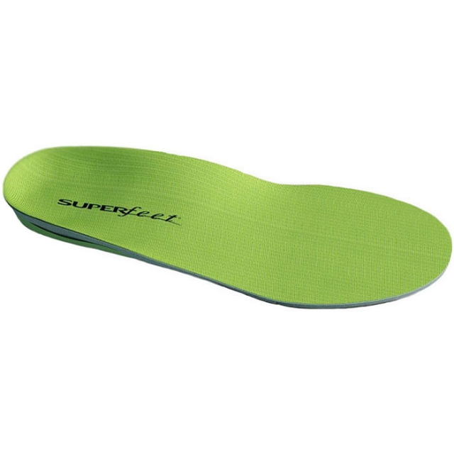 Superfeet - Wide Green Trim-To-Fit Insole - Green C