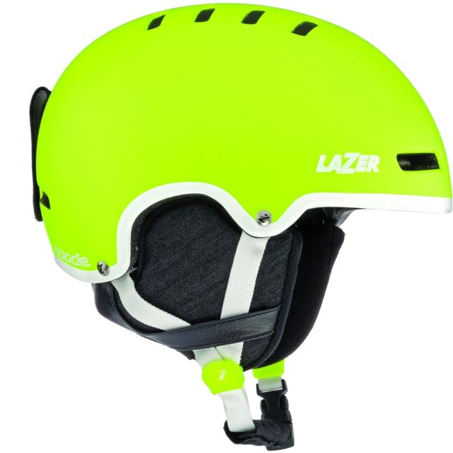 Lazer - - Hoodie Ski Helmet - Small - Fluoro Yellow