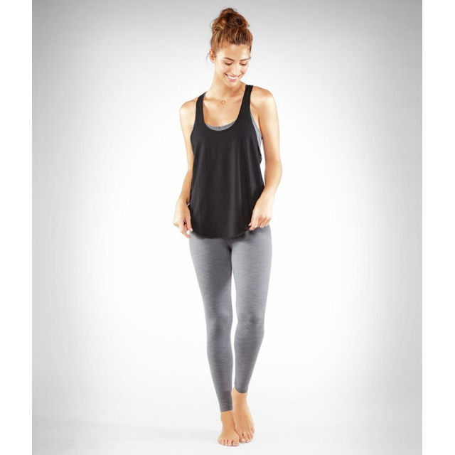 Manduka - - ESSENTIAL LEGGING - MEDIUM - Sediment