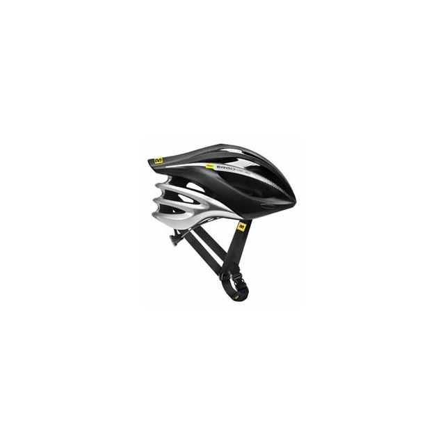 Mavic - Plasma Cycling Helmet - Black/Silver In Size: Small