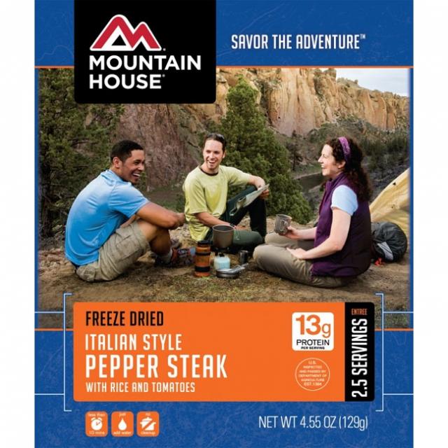 Mountain House - Italian Pepper Steak Pouch