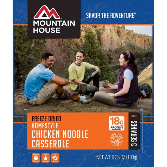Mountain House - Homestyle Chicken Noddle Casserole