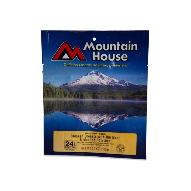 Mountain House - chicken breast with mashed potatoes- serves 2