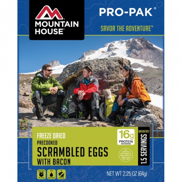 Mountain House - Eggs W/Bacon Pro-Pak