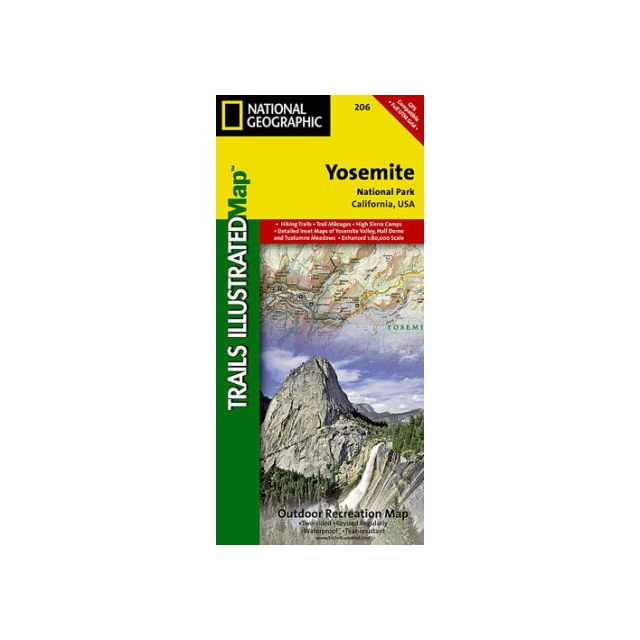 National Geographic: Trails Illustrated - Trails Illustrated Map  - Yosemite NP