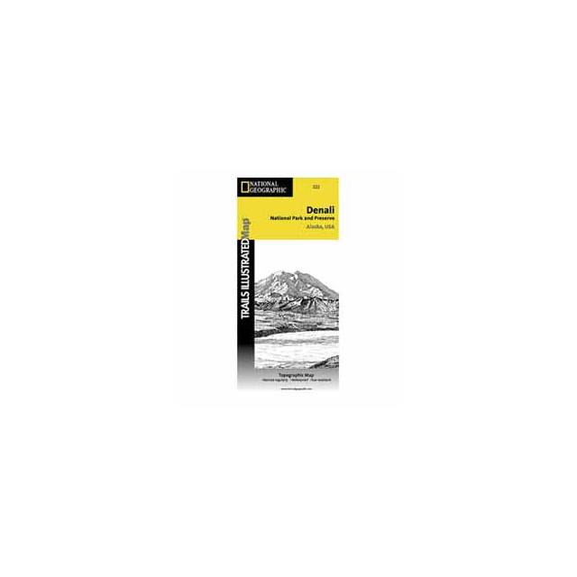 National Geographic: Trails Illustrated - National Geographic  - Denali National Park & Preserve- AK