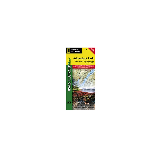 National Geographic: Trails Illustrated - Map - Lake George, Great Sacandaga - NY