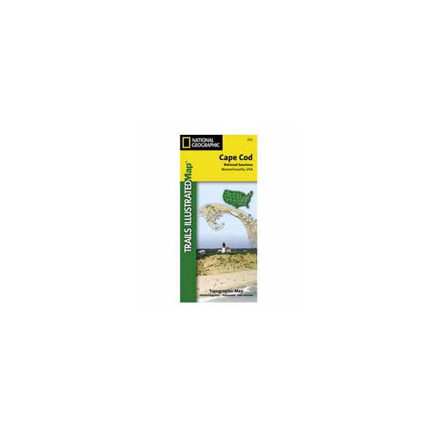 National Geographic: Trails Illustrated - Cape Cod National Seashore Map - MA