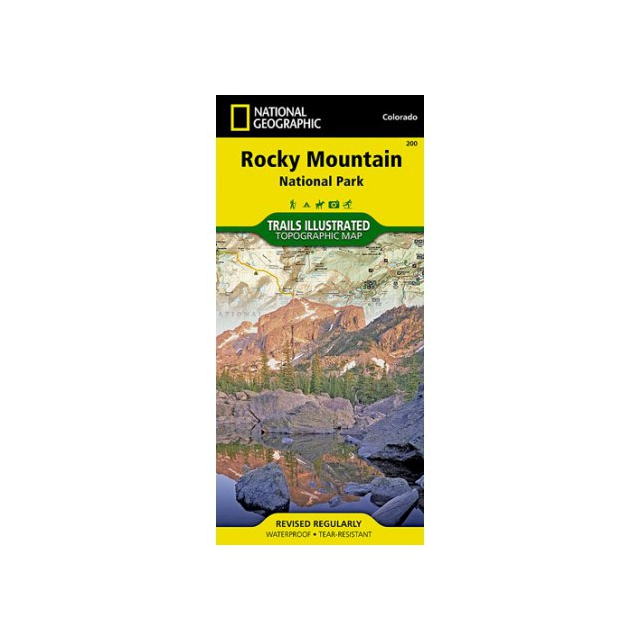 National Geographic: Trails Illustrated - Trails Illustrated Map  - Rocky Mountain NP