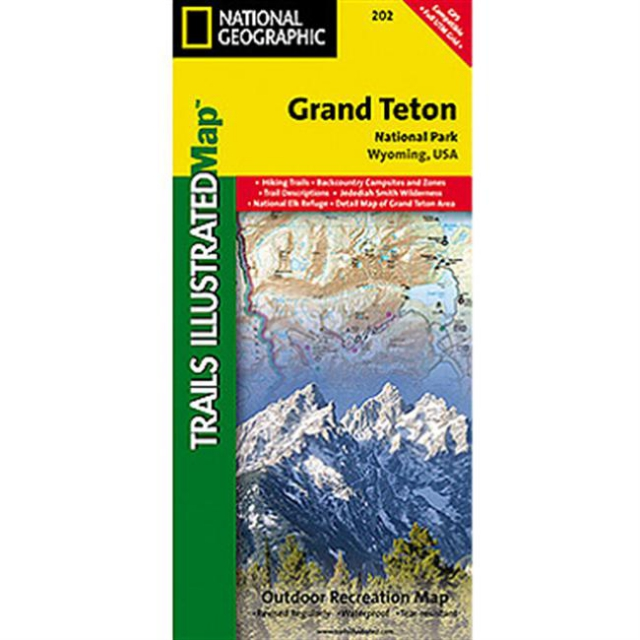 National Geographic: Trails Illustrated - Grand Teton National Park