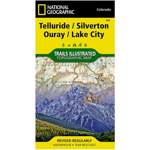 National Geographic: Trails Illustrated - Telluride/Silverton/Ouray/Lake City