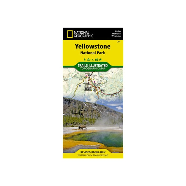 National Geographic: Trails Illustrated - Trails Illustrated Map  - Yellowstone NP