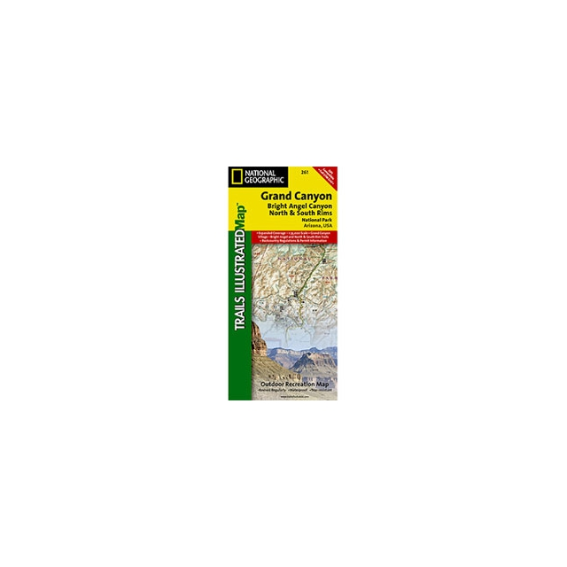 National Geographic: Trails Illustrated - Trails Illustrated - Grand Canyon West Map - AZ - Map