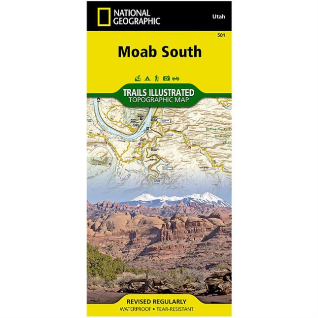 National Geographic: Trails Illustrated - Moab South: Outdoor Recreation Map