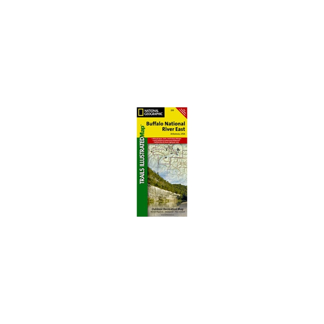 National Geographic: Trails Illustrated - 233 Buffalo National River East Map