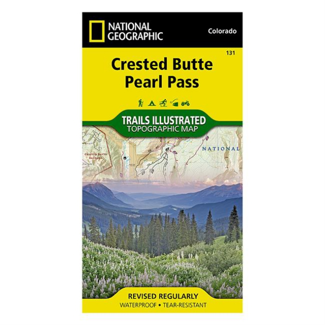 National Geographic: Trails Illustrated - Crested Butte/Pearl Pass