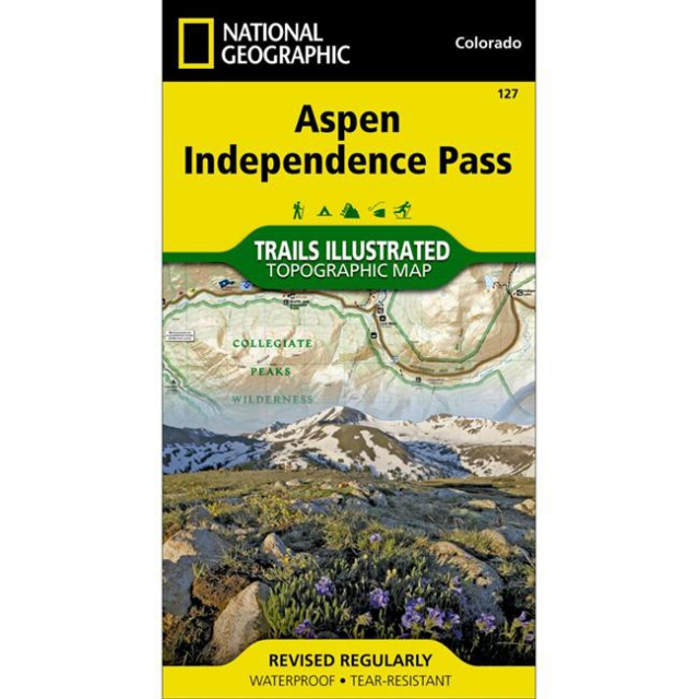 National Geographic: Trails Illustrated - Aspen/Independence Pass