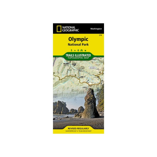 National Geographic: Trails Illustrated - Trails Illustrated Map  - Olympic NP
