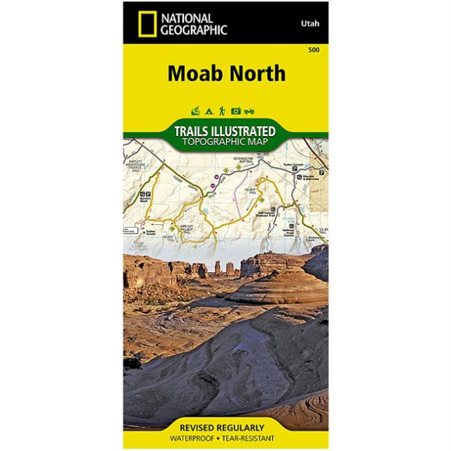 National Geographic: Trails Illustrated - Moab North: Outdoor Recreation Map