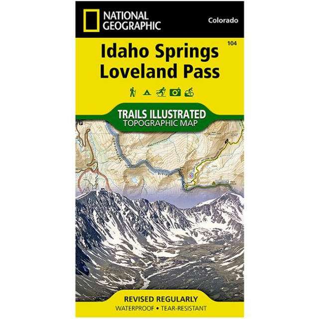 National Geographic: Trails Illustrated - Idaho Springs/Georgetown/Loveland Pass