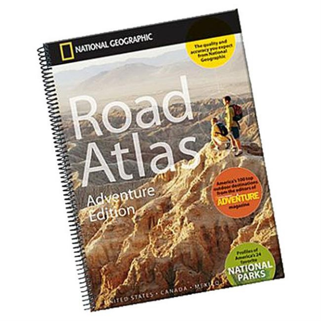 National Geographic: Trails Illustrated - Road Atlas - Adventure Edition