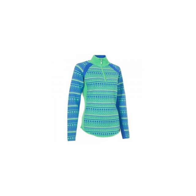 Neve Designs - Gemma 1/4-Zip Sweater Women's, Ocean, L