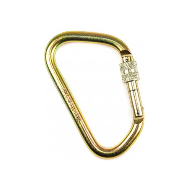 Omega Pacific - X-Large Modified D Screw-Lok Carabiner - NFPA