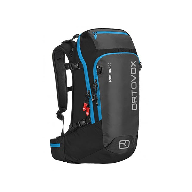 Ortovox - Tour Rider 30 Ski/Board Backpack: Black/Anthracite