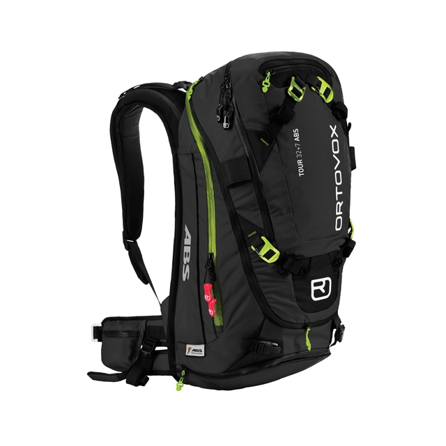 Ortovox - Tour 32+7 ABS Ready Backpack: Black Anthracite