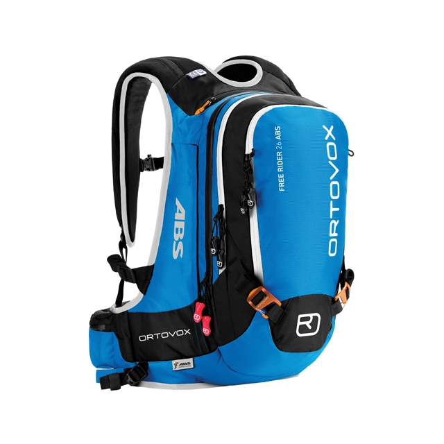 Ortovox - Free Rider 26 ABS Ready Backpack: Blue Ocean