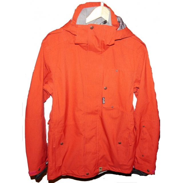 Planet Earth - Planet Earth  - Neige Jacket Mens - Small - Red