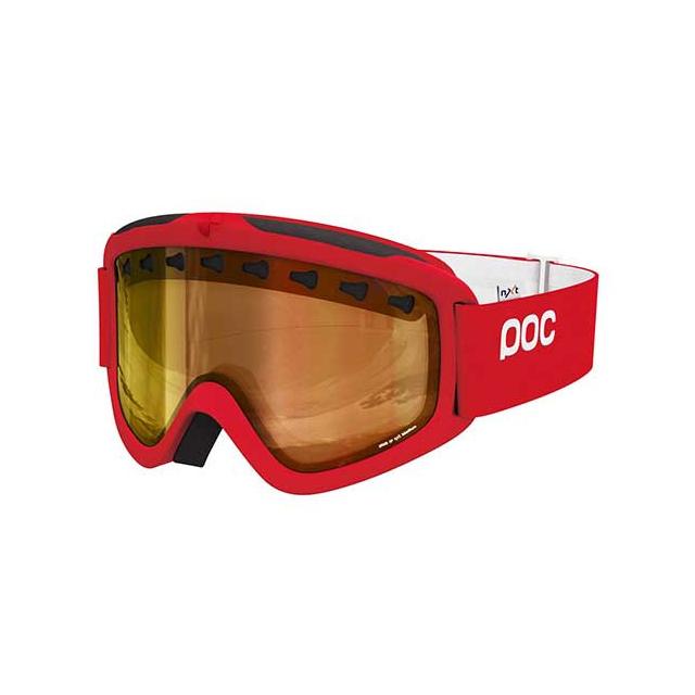 POC - Iris 3P Goggles: Bohirum Red