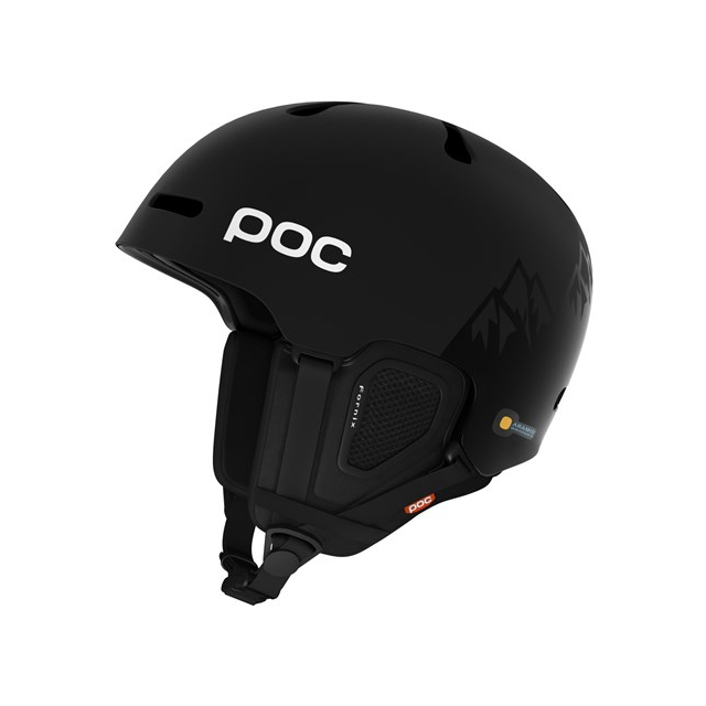 POC - Sports Fornix BC MIPS J. Jones Special Edition Helmet: Uranium Black, Medium/Large