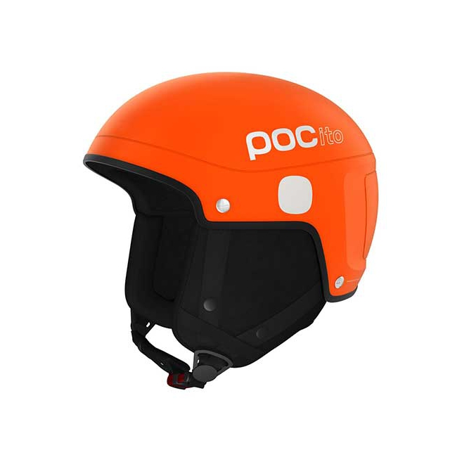 POC - POCito Skull Light Helmet - Kid's: Fluorescent Orange, Extra Small/Small