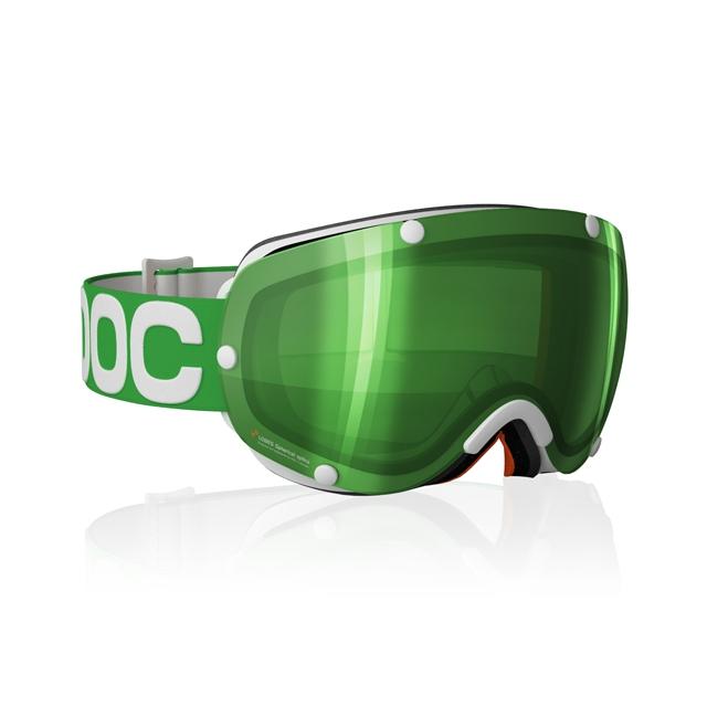 POC - Lobes Goggles: Pink Frame/Pink Lens