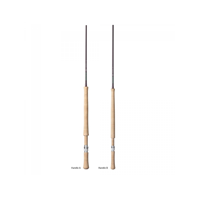 Redington - Dually Fly Rod - BURGANDY MATTE,4109-4