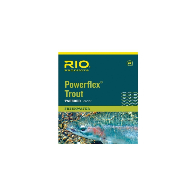 RIO - Powerflex Trout Knotless Leader