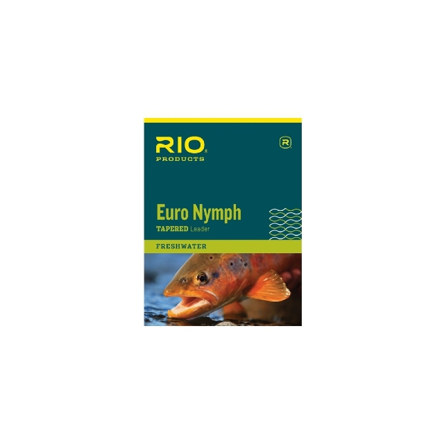 RIO - Euro Nymph Leader with Tippet Ring